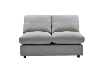 Elton | 2 Seater Unit | Victoria Smokey Grey