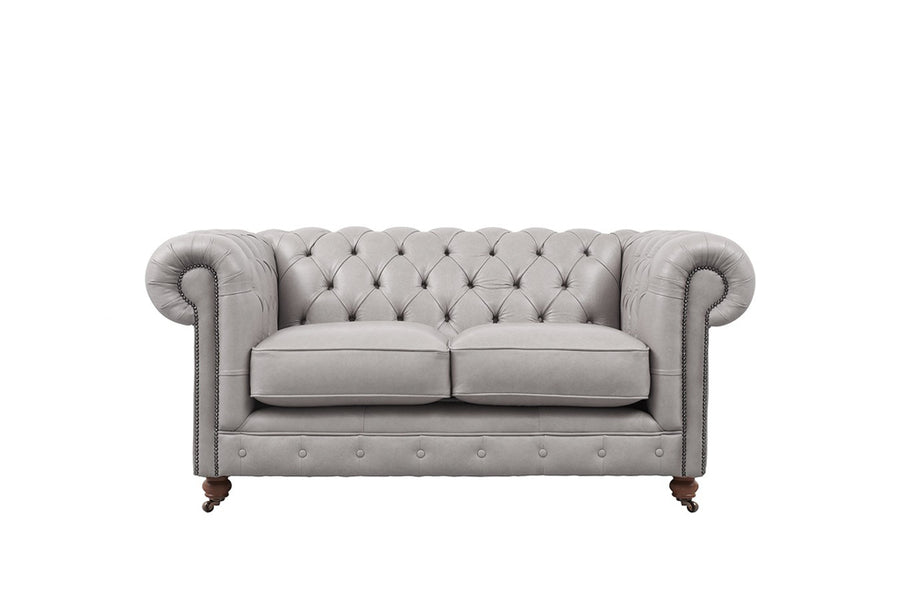 Grand Chesterfield | 2 Seater Sofa | Milton Fog