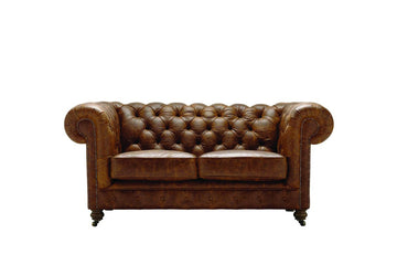 Grand Chesterfield | 2 Seater Sofa | Vintage Chestnut