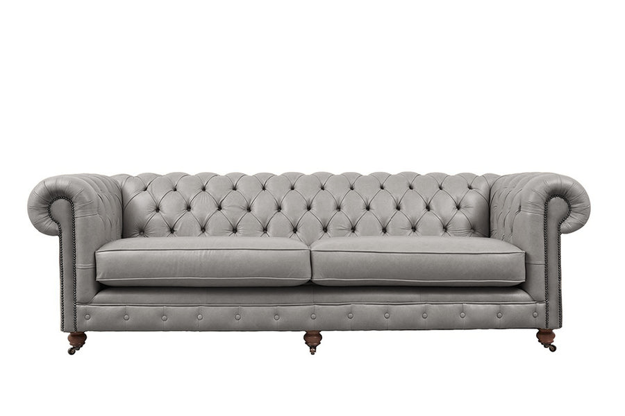 Grand Chesterfield | 4 Seater Sofa | Milton Fog