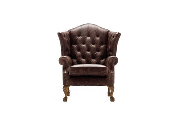 Grand Chesterfield | Highback Chair | Vintage Rosewood