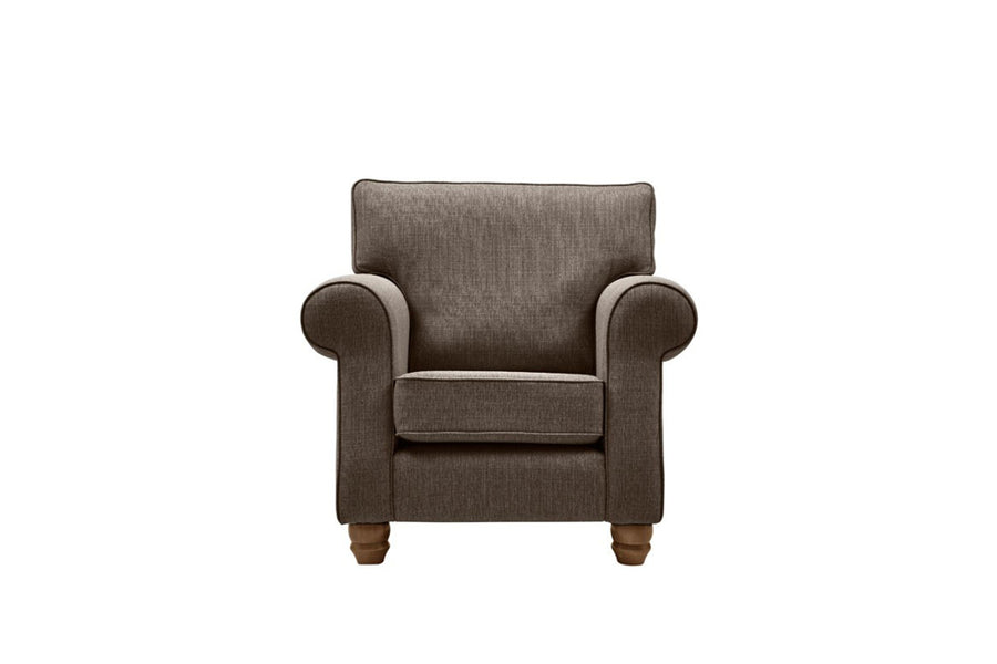 Genoa | Armchair | Carnaby Charcoal