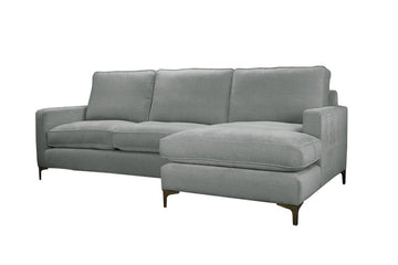 Ismay | Chaise Sofa Option 2 | Velluto Silver