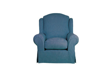 Banbury | Highback Chair | Ruskin Royal Blue
