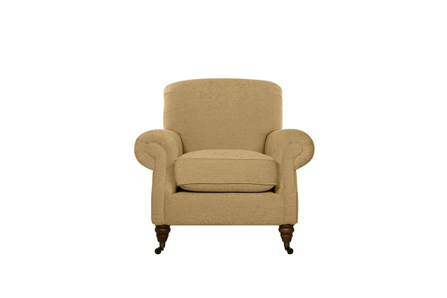 Blenheim | Armchair | Brecon Plain Biscuit