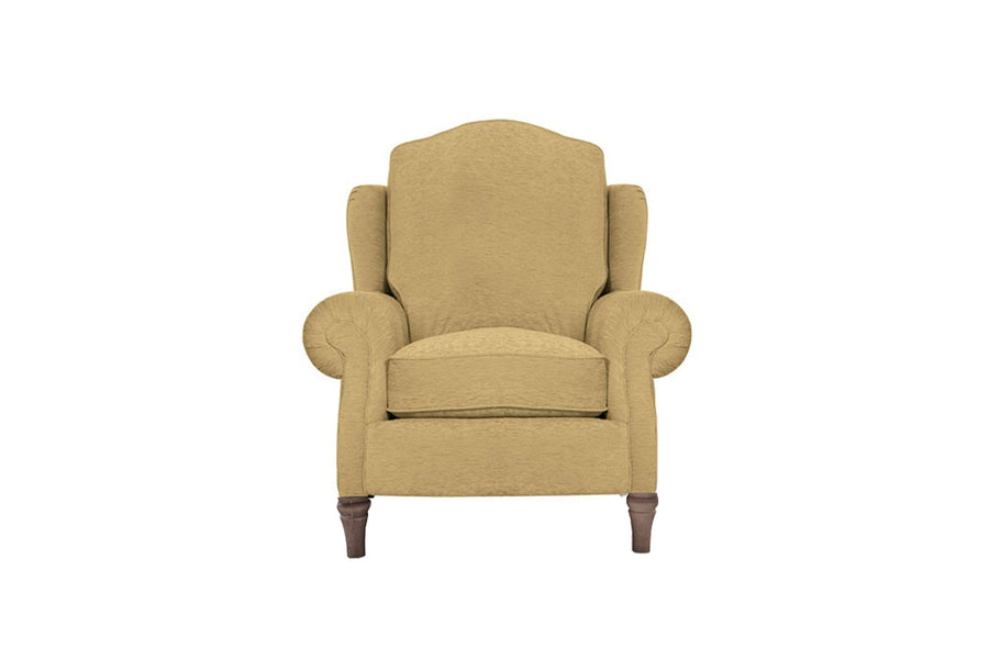 Blenheim | Highback Chair | Brecon Plain Biscuit