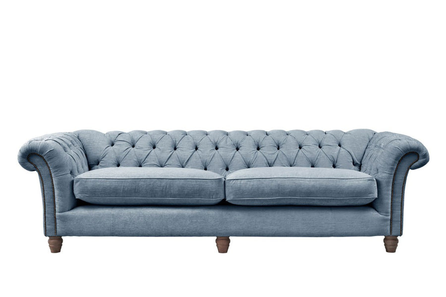 Chelsea | 4 Seater Sofa | Turner Blue