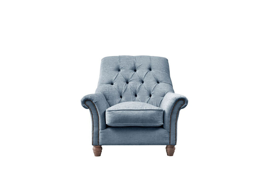 Chelsea | Slipper Chair | Turner Blue
