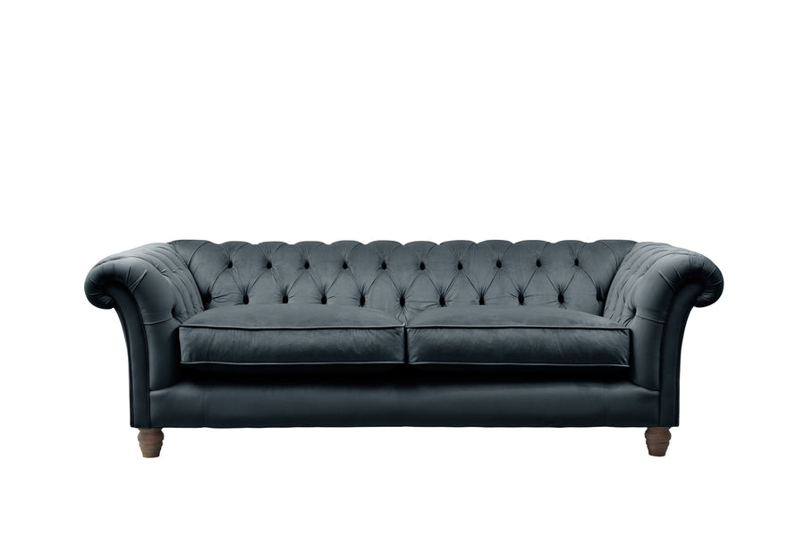 Grosvenor | 3 Seater Sofa | Opulence Petrol