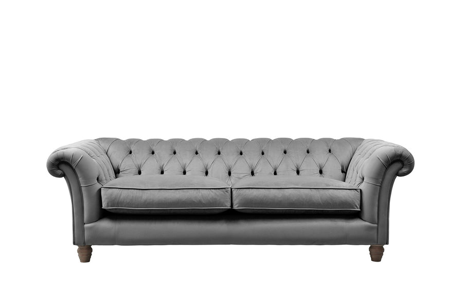 Grosvenor | 3 Seater Sofa | Opulence Steel