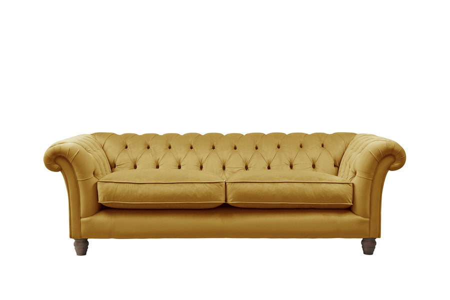 Grosvenor | 3 Seater Sofa | Opulence Saffron