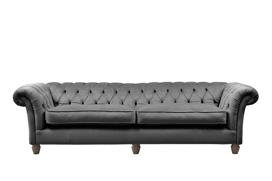 Grosvenor | 4 Seater Sofa | Opulence Granite