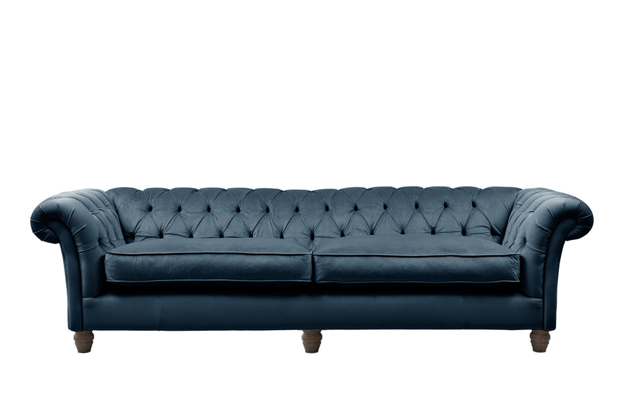 Grosvenor | 4 Seater Sofa | Opulence Peacock