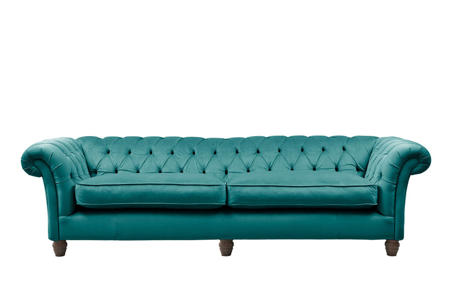 Grosvenor | 4 Seater Sofa | Opulence Teal