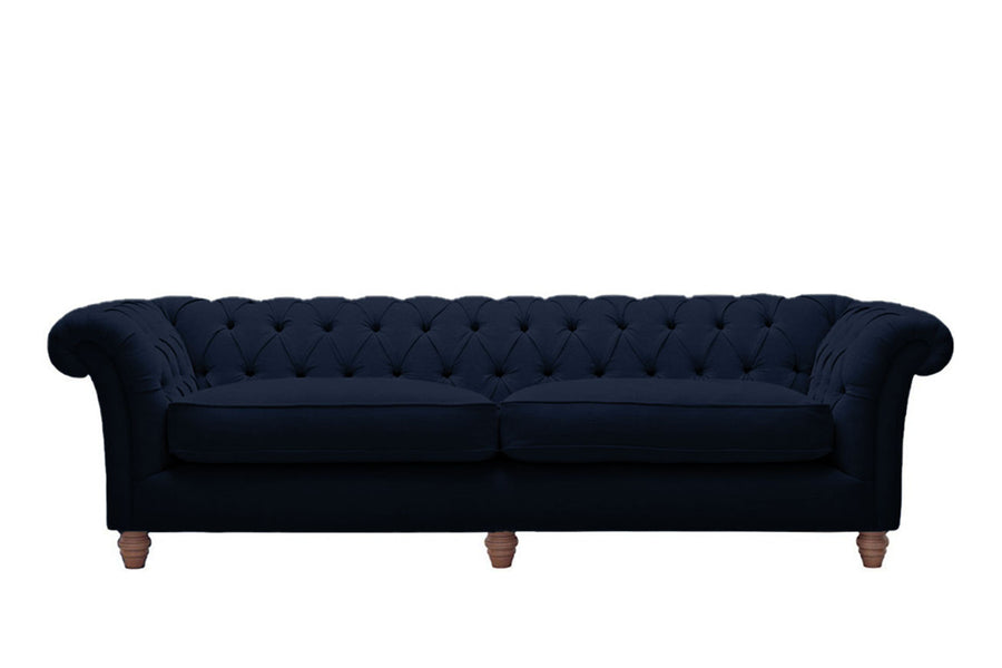 Grosvenor | 4 Seater Sofa | Pavilion Indigo