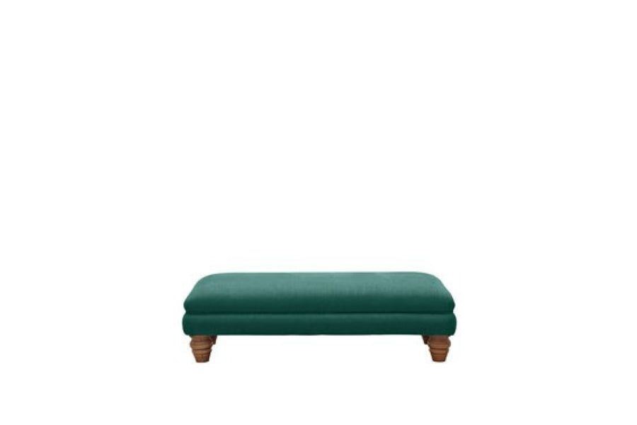 Grosvenor | Footstool | Opulence Teal