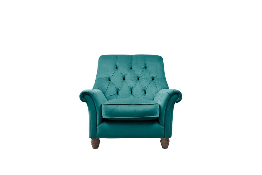 Grosvenor | Slipper Chair | Opulence Teal
