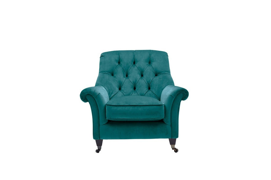 Hampton | Highback Chair | Opulence Teal