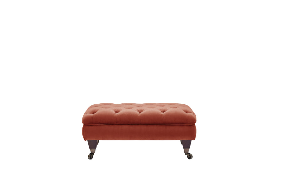 Hampton | Footstool | Opulence Sunset
