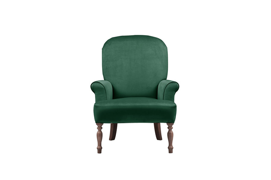 Rebecca | Emily Companion Chair | Opulence Emerald
