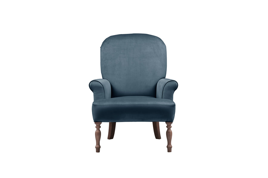 Agatha | Emily Companion Chair | Opulence Peacock