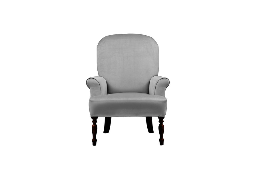 Agatha | Emily Companion Chair | Opulence Steel