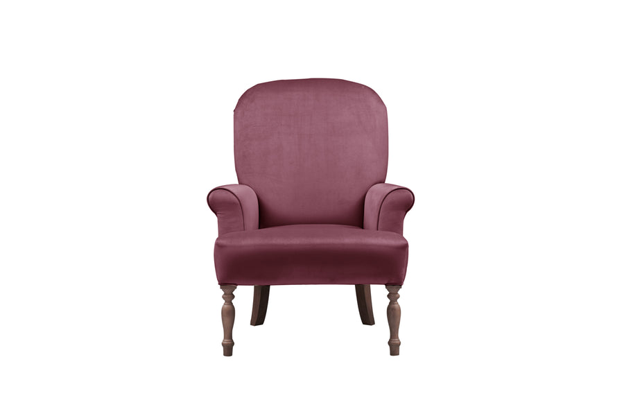 Agatha | Emily Companion Chair | Opulence Shiraz