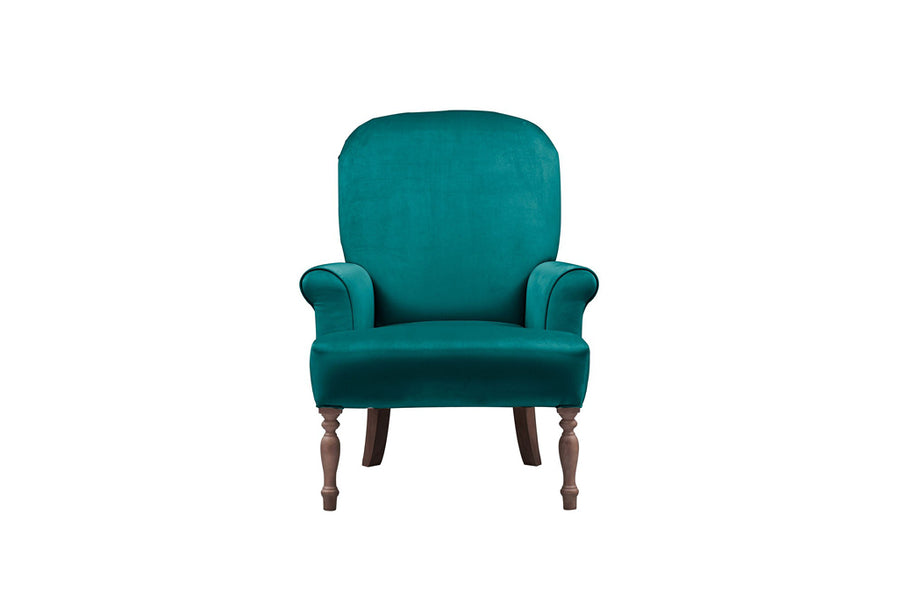 Agatha | Emily Companion Chair | Opulence Teal