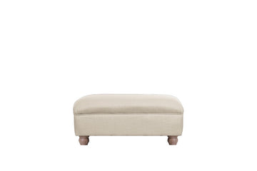 Wentworth | Footstool | Pavilion Cream