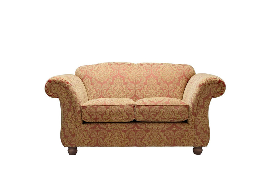 Woburn | 2 Seater Sofa | Brecon Damask Terracotta