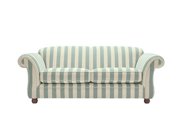 Woburn | 3 Seater Sofa | Brecon Stripe Duck Egg