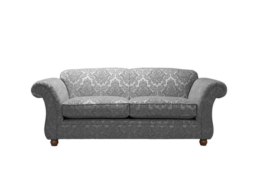 Woburn | 3 Seater Sofa | Brecon Damask Granite
