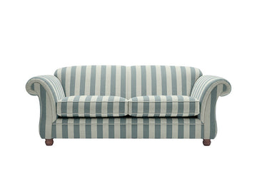 Woburn | 3 Seater Sofa | Brecon Stripe Grey
