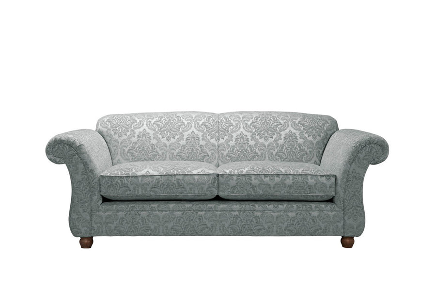 Woburn | 3 Seater Sofa | Brecon Damask Grey