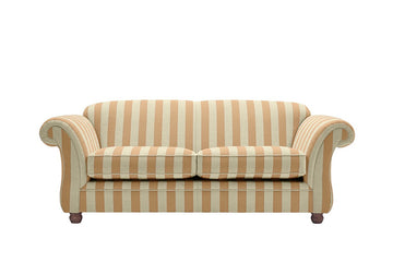 Woburn | 3 Seater Sofa | Brecon Stripe Mink