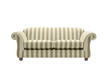 Woburn | 3 Seater Sofa | Brecon Stripe Sage