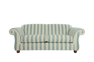 Woburn | Midi Sofa | Brecon Stripe Duck Egg