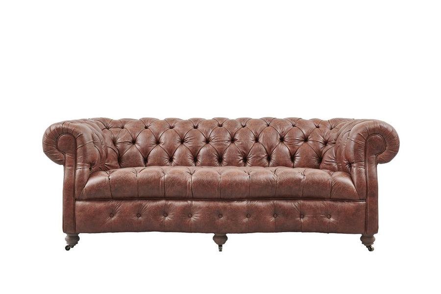 Lincoln | 3 Seater Sofa | Vintage Chestnut
