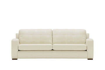 Mezzo | 4 Seater Sofa | Softgrain White
