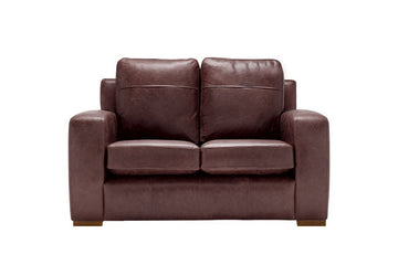 Mezzo | 2 Seater Sofa | Saddle Chocolate