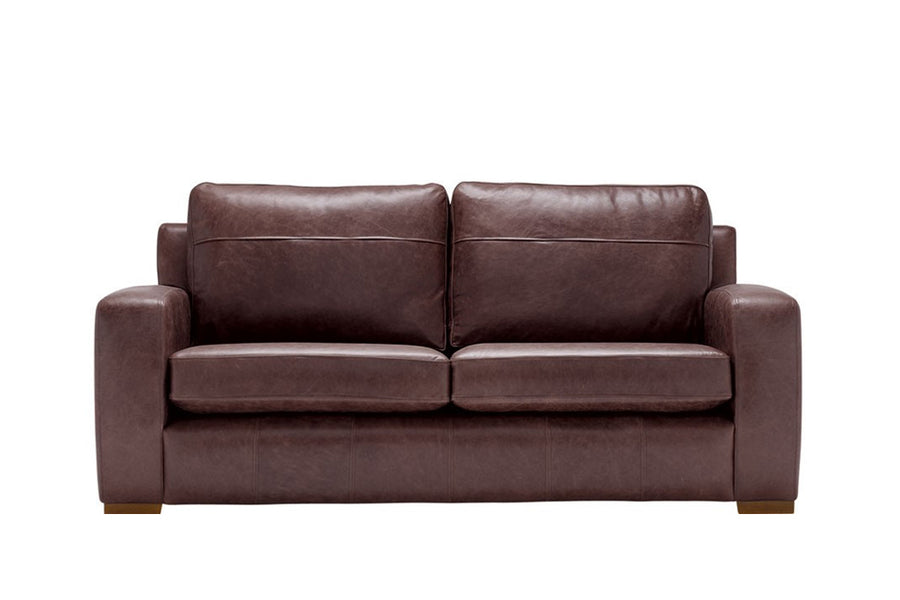 Mezzo | 3 Seater Sofa | Saddle Chocolate