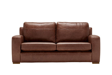 Mezzo | 3 Seater Sofa | Saddle Hazel