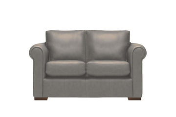 Scala | 2 Seater Leather Sofa | Softgrain Grey