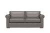 Scala | 3 Seater Leather Sofa | Softgrain Grey