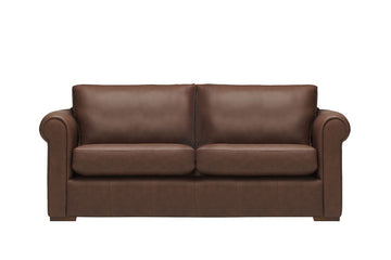 Scala | 3 Seater Leather Sofa | Softgrain Tabac