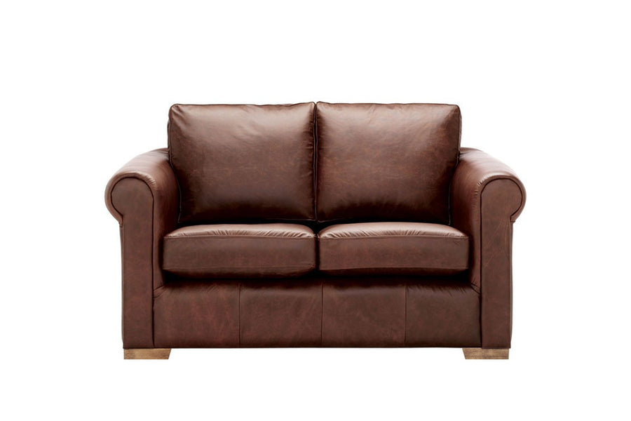 Scala | 2 Seater Leather Sofa | Saddle Chocolate