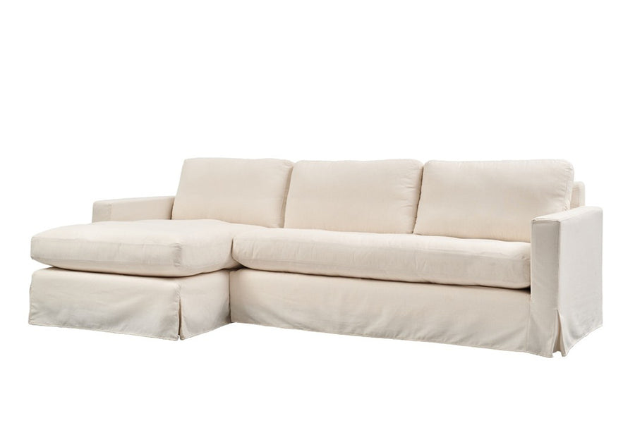 Kate | Chaise Sofa Option 2 | Mae Natural