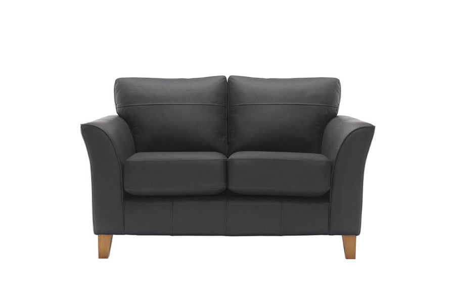 Malmo | 2 Seater Sofa | Softgrain Black