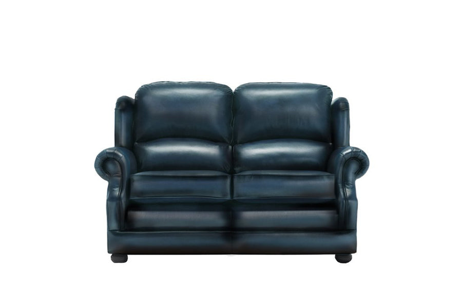 Marlow | 2 Seater Sofa | Antique Blue