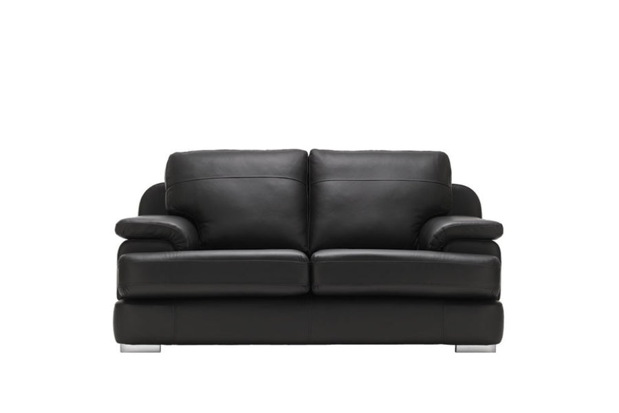 Marino | 2 Seater Sofa | Softgrain Black
